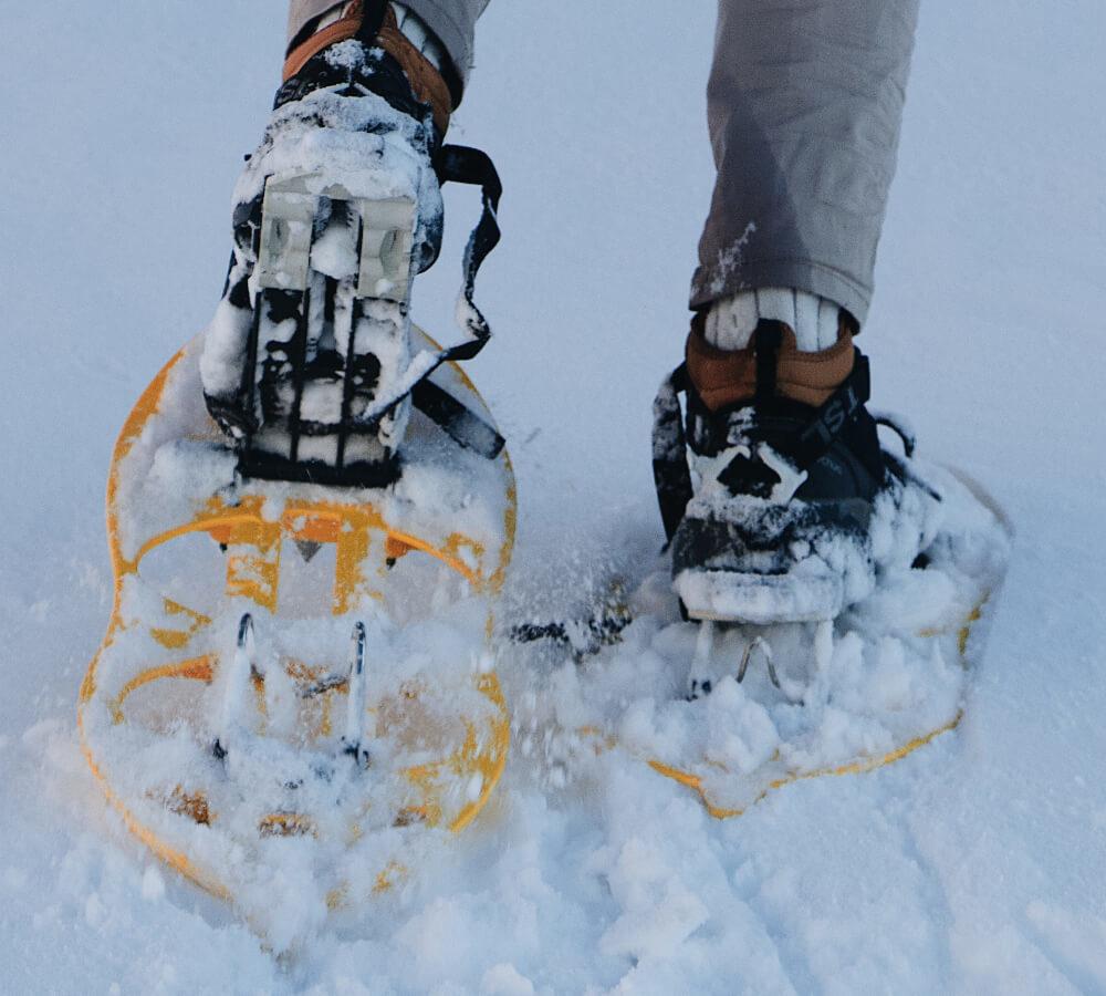 Wat zijn sneeuwschoenwandelingen?