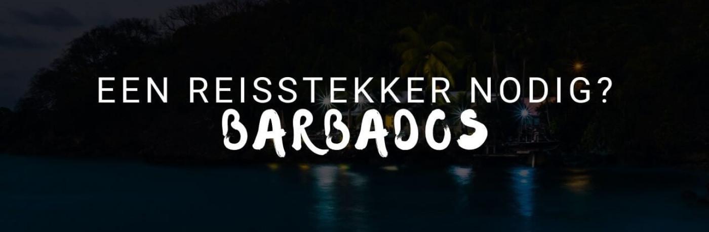 Heb je een reisstekker nodig op Barbados?