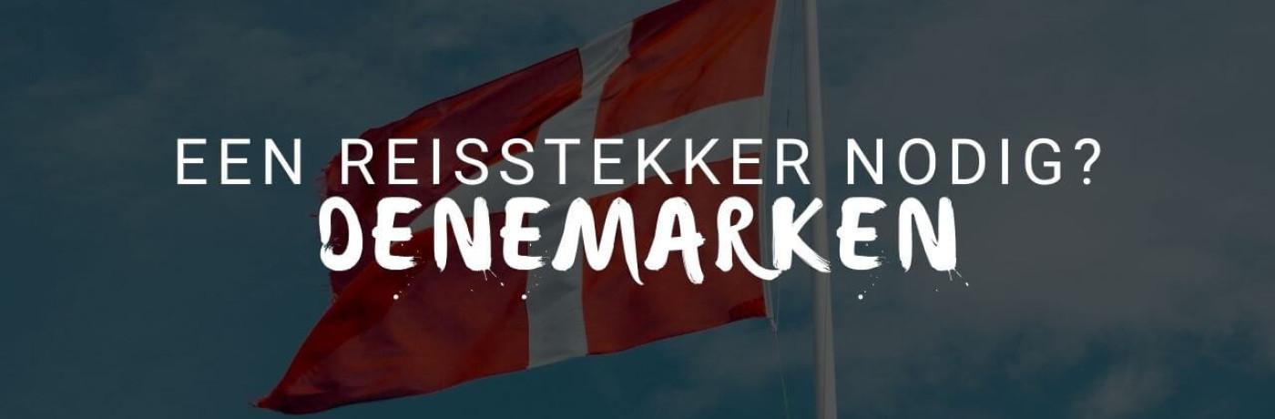 Heb ik een wereldstekker nodig in Denemarken?