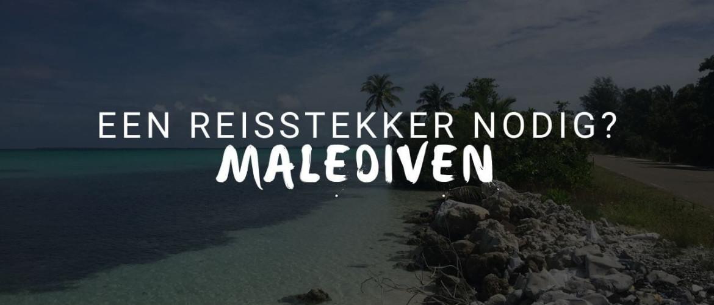 Heb je een wereldstekker nodig op de Malediven?