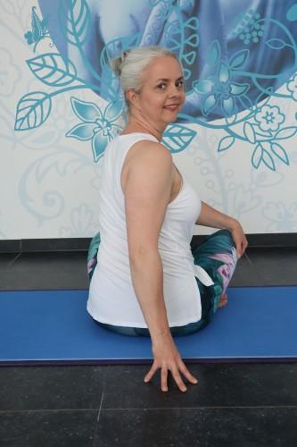 Gentle Somatic Yoga twist