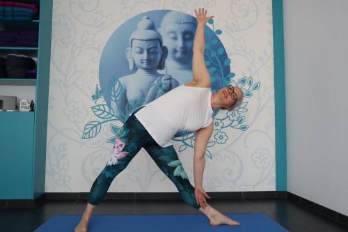 Yoga driehoekshouding