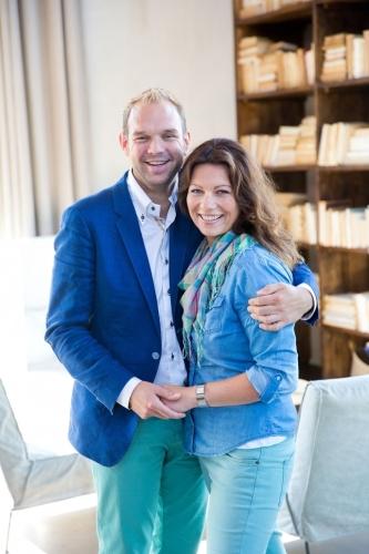 Foto Bart en Sanne van den Belt