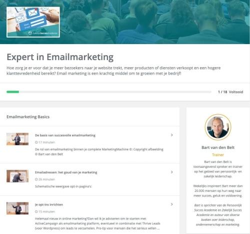 Exper in emailmarketing