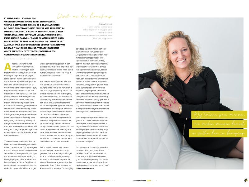 Ursula van den Bovenkamp Anderz Gastvrij