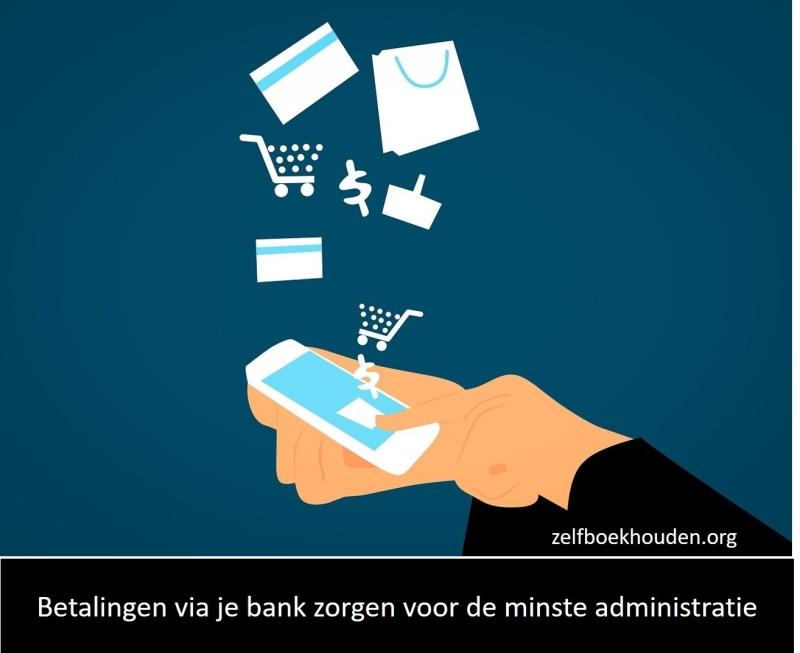 Bankkoppelingen aan administratieprogramma's zorgen voor het minste werk aan je administratie
