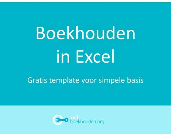 Gratis Excel boekhouding template