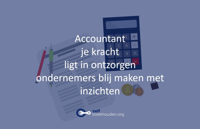 boekhoudprogramma voor administratiekantoor zorgt voor ontzorgen van je klant