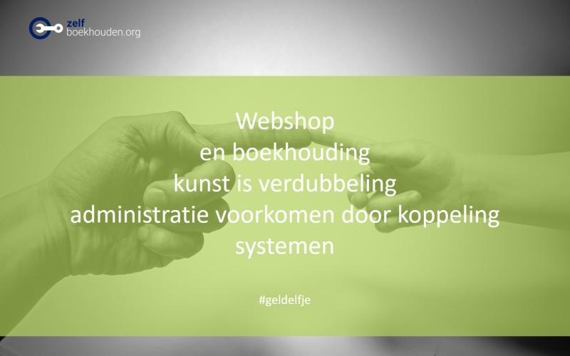 Boekhoudprogramma webshop: verminder boekhouding door koppeling