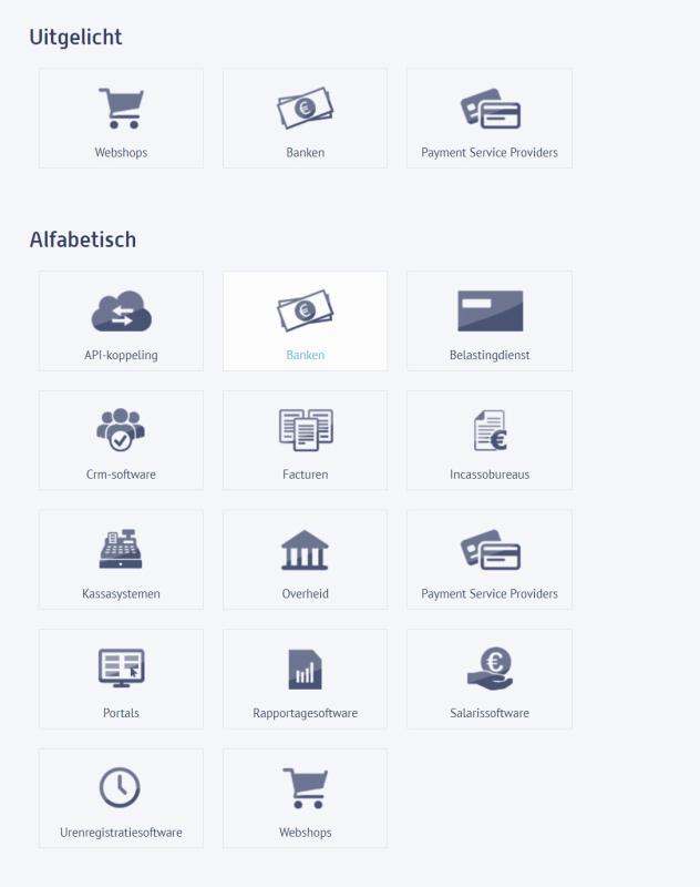 Software koppelingen met boekhoudprogramma's voor webshops