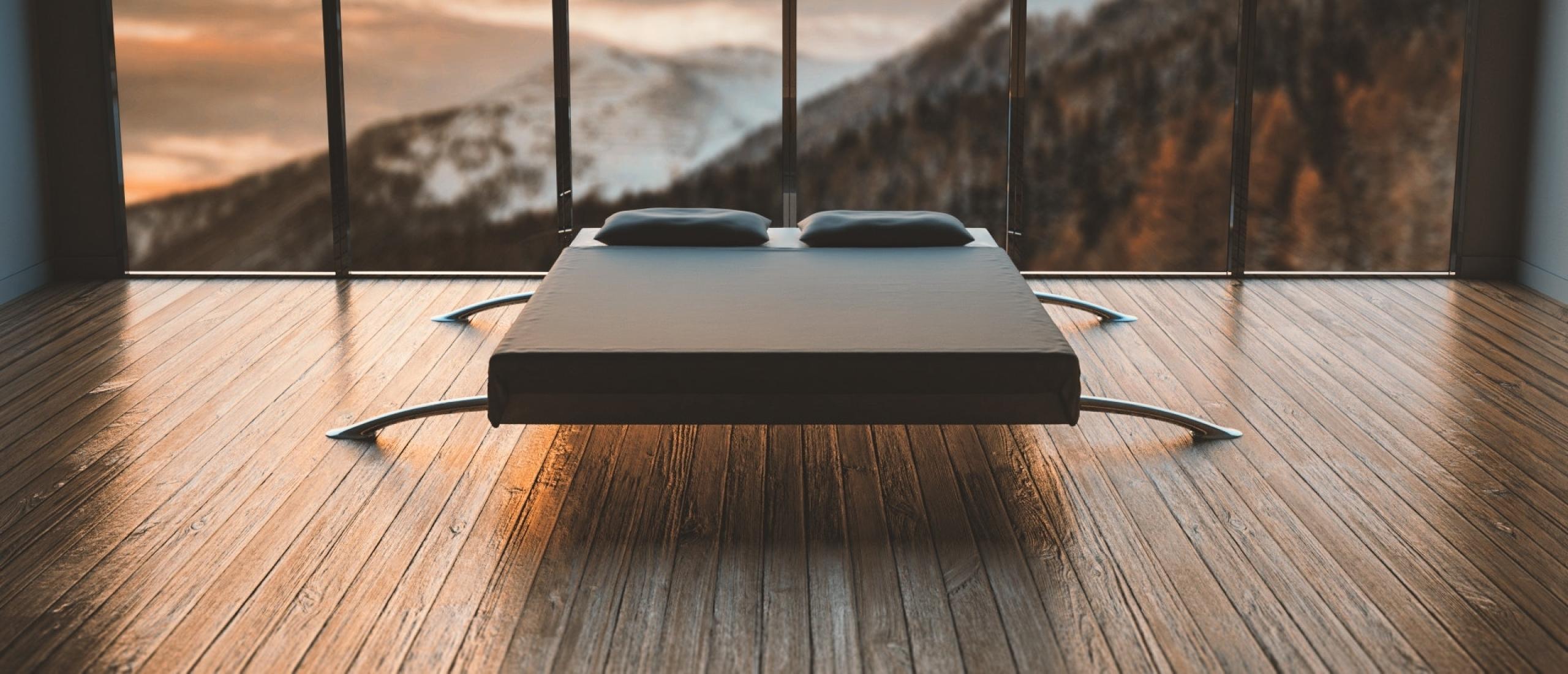 minimalisme-bed