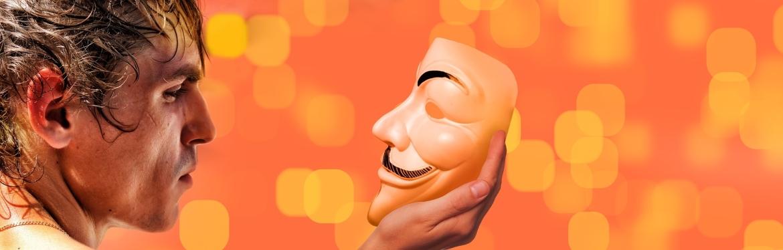 Zelfvertrouwen ontwikkelen masker man