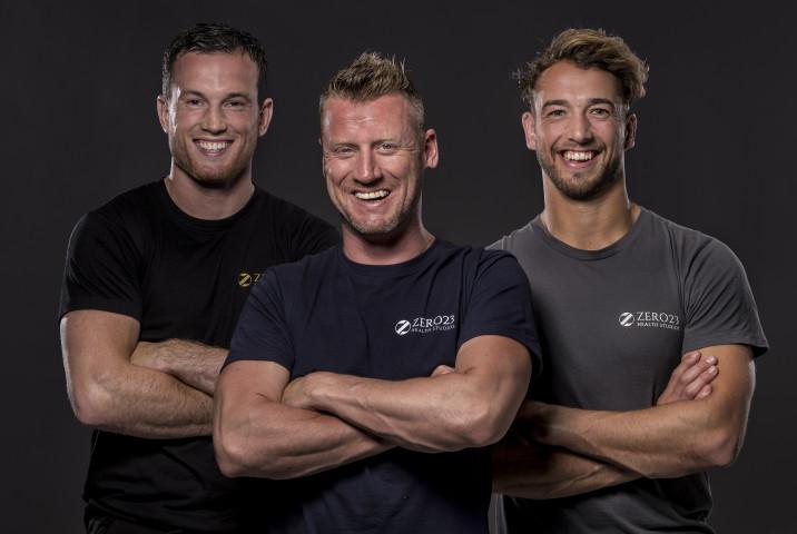 Personal training Arjan van Honk, Melvin Schol en Bram Crans