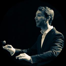 lesgever van zingen van blad