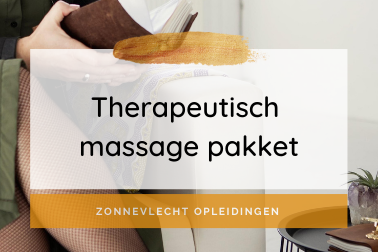 Zonnevlecht Opleidingen Online - Therapeutisch massage pakket
