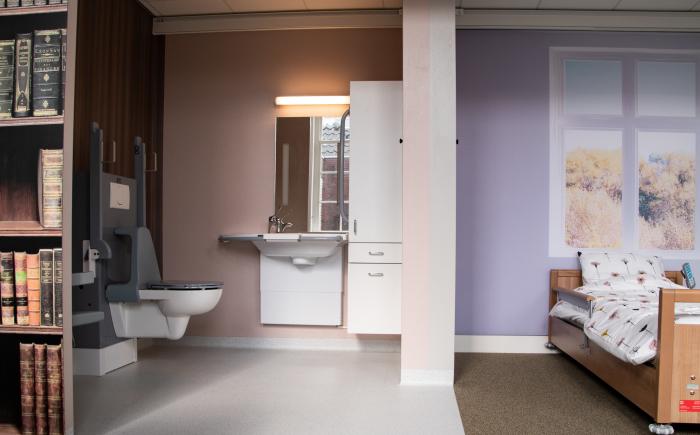 Aangepaste badkamer van Bano Benelux in het ZIC