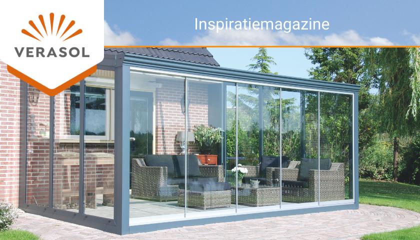 Inspiratie voor een Verasol veranda of tuinkamer bij ZSM Zonwering