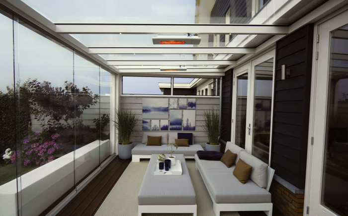 Verasol Highline Cube extra sterke profielen-zsm zonwering