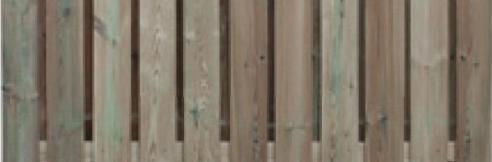 Wat is een 23-planksschutting?