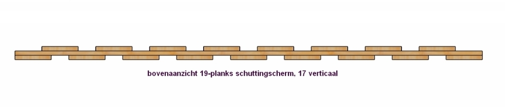 beugellat schutting 19-planks