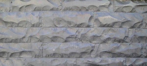 Gebroken steen betonmotief