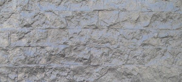 Graniet Motief Hout Beton Schutting