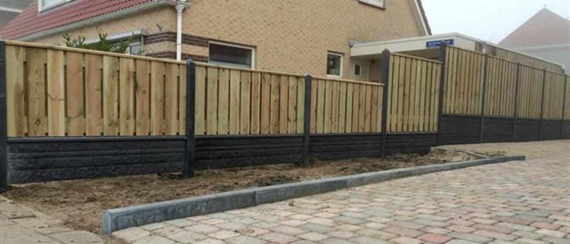 Groothandel hout-betonschutting en betonschutting