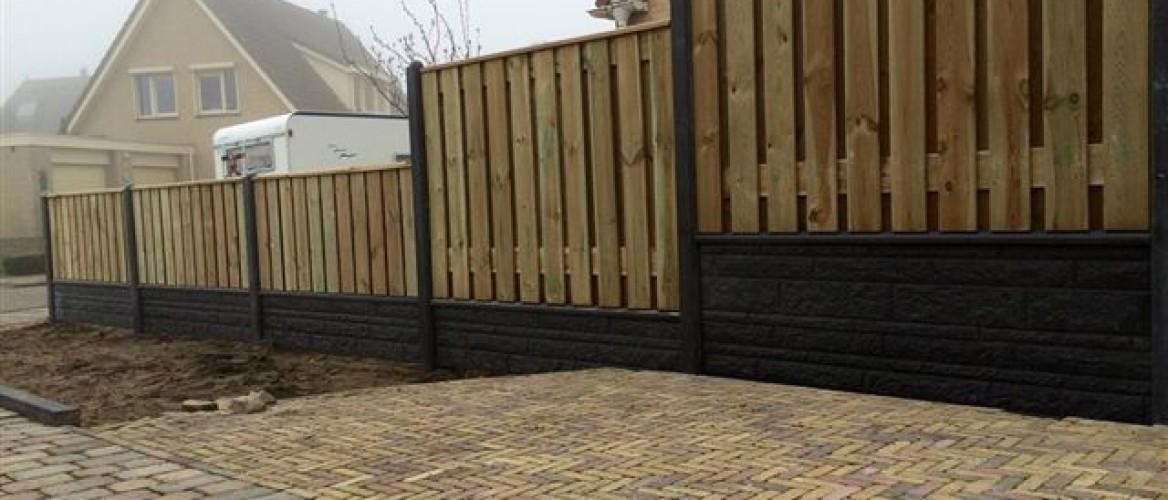 Betonplaten voor een hout-betonschutting bestellen?