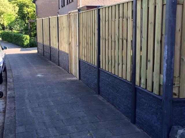 luxe hout beton schutting limburg