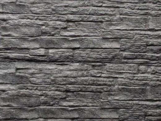 Nostalgie motief houtbetonschutting of betonschutting