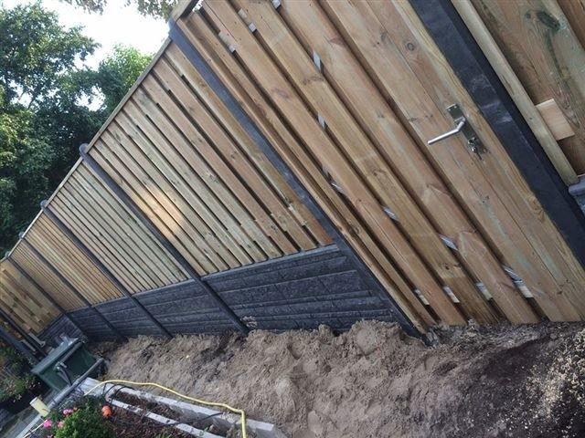 hout betonschutting enschede (overijssel)