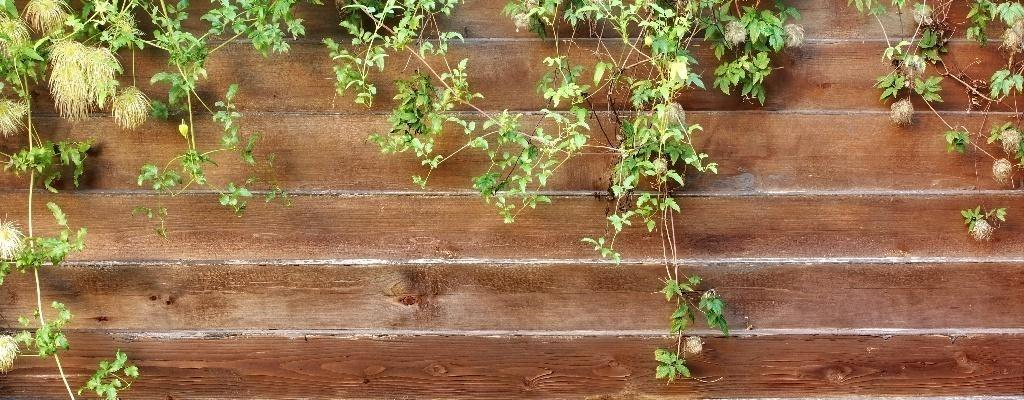 soorten schutting houten schutting