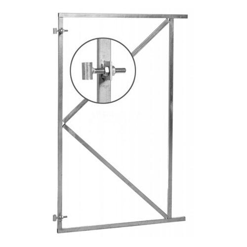 Schuttingpoort: Stalen frame