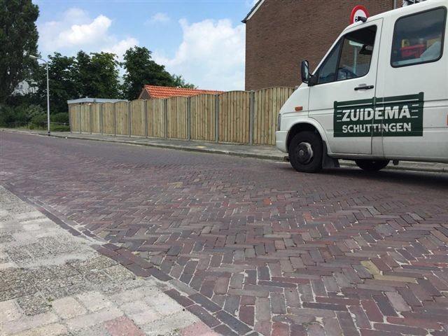 Houtbetonschutting Douglas of Grenen Hout Drenthe