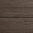 Taupe beton: houtbetonschutting of betonschutting