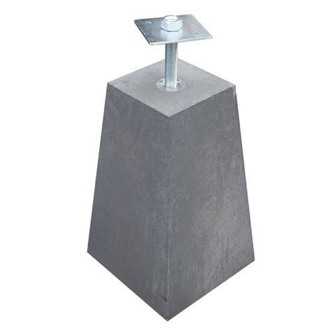 Uitvoeringen en maten van betonpoer